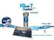 IQcell Technologie löst Wasserprobleme