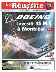 à Montréal - La Réussite