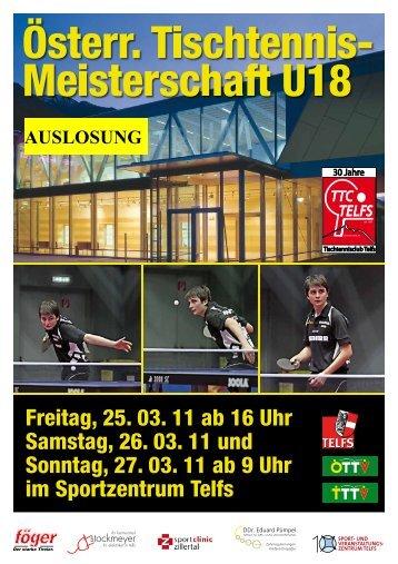 Auslosung Österreichische Meisterschaften U18 - Kärntner ...
