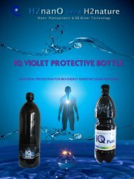 IQ VIOLET PROTECTIVE BOTTLE
