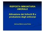 Risposta immunitaria umorale [Sola lettura] [modalità compatibilità]