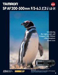 200-500 Catalog - Tamron