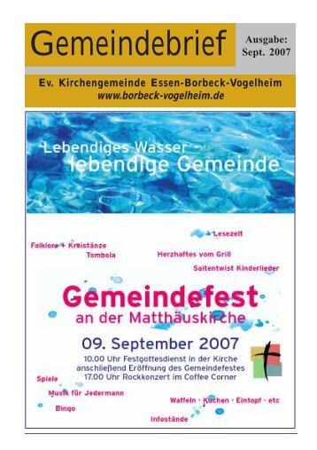 09. September 2007