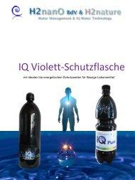 IQ Violett-Schutzflasche