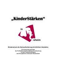 KinderStärken – Kinderarmut als ... - Zentrum Bildung