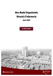 Nou Model Organitzatiu Direcció d'Infermeria - Hospital Universitari ...