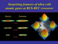 Surprising features of ultra cold atomic gases at BCS-BEC crossover