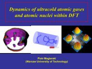 Dynamics of ultracold atomic gases and atomic nuclei within DFT