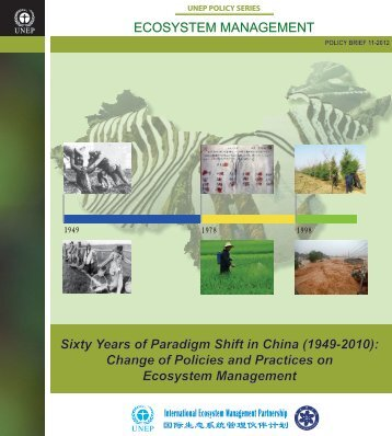 Sixty Years of Paradigm Shift in China - Rio+20
