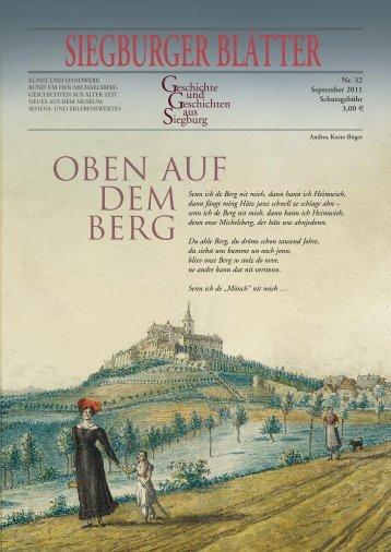 OBEN AUF DEM BERG - Blattwelt
