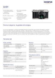 Izstrādājumu lapa - Olympus
