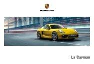 La nuova Cayman - Porsche