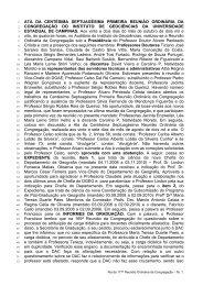 171ª Reunião Ordinária, realizada em 22/10/2008