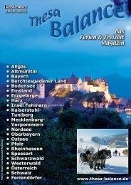 Das Ferien & Freizeit Magazin - Thesa-Balance - Das Ferien- und ...