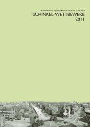 Broschüre des AIV zu Berlin zum Schinkel ... - architekten24.de