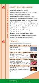 Erlebnis-Arrangements 2014 - AKZENT Hotel Nussknacker - Seite 2