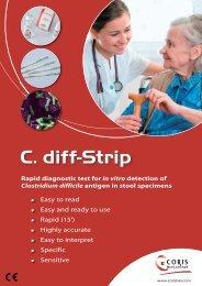 C. diff-Strip - Coris Bioconcept