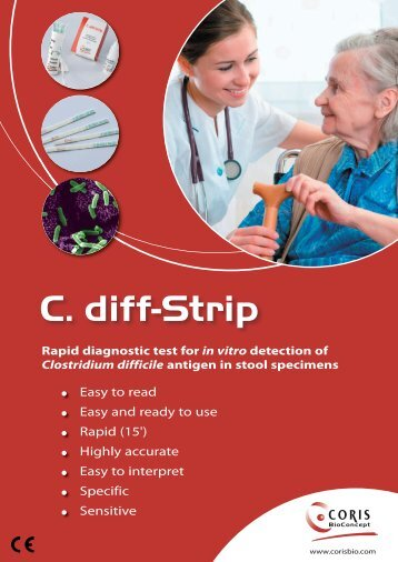 C. diff-Strip - Coris Bioconcept