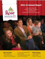 download a copy of our 2011-12 annual report - The Rose
