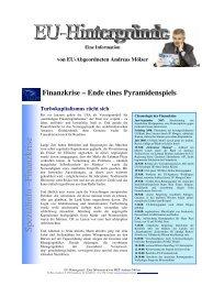 S pezialinfo –Finanzkrise - Andreas Mölzer