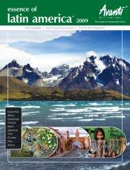 latin america 2009 - Avanti Destinations