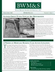 Bulletin Vol 3 Issue 1 March April 04 - Burke, Warren, MacKay ...
