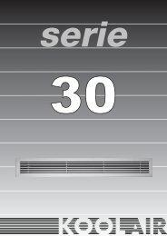 serie 30 - Koolair