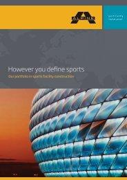However you define sports - ALPINE Bau GmbH