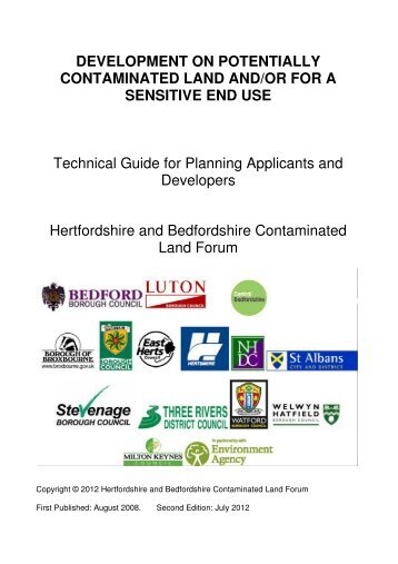 Contaminated Land Planning Guidance - Hertsmere Borough Council