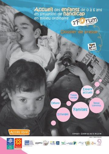 Accueil des enfants de 0 à 6 ans en situation de handicap en ...