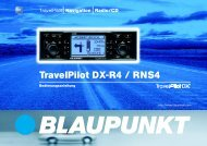TravelPilot DX-R4 / RNS4 - Blaupunkt