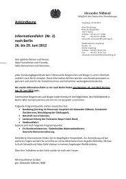 nach Berlin 26. bis 29. Juni 2012 - DIE LINKE. Alexander Süßmair ...