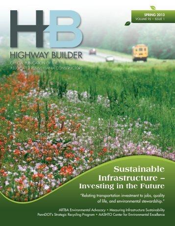 Spring 2013 - Highway Builder Magazine