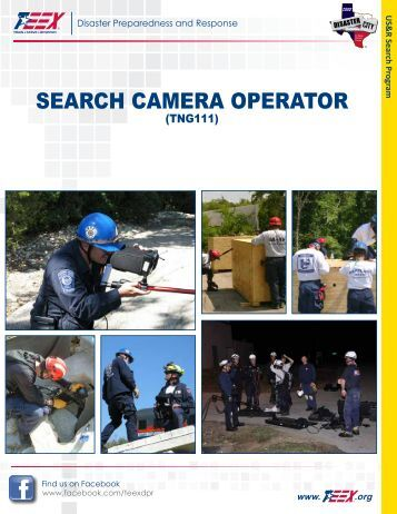 search camera operator - Texas Engineering Extension Service