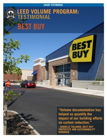 Testimonial: Best Buy - US Green Building Council