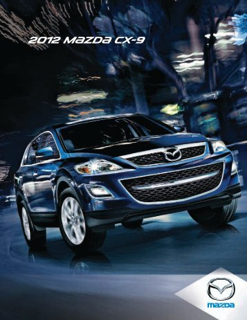 2012 m{zd{ Cx-9 - Mazda Canada