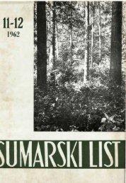 ÅUMARSKI LIST 11-12/1962