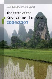 Environment in Asia - United Nations University