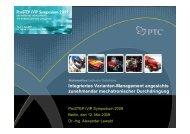 Integriertes Varianten-Management - ProSTEP iViP