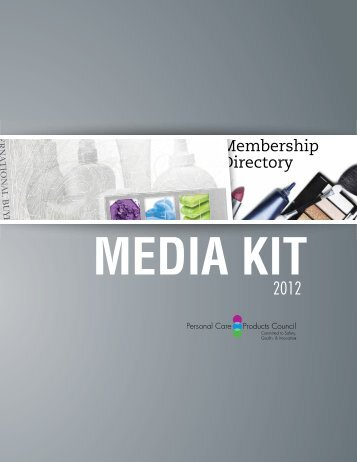 2012 Media Kit - Personal Care Products Council