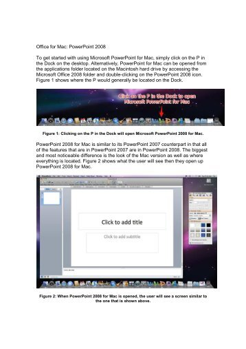 office for mac get started