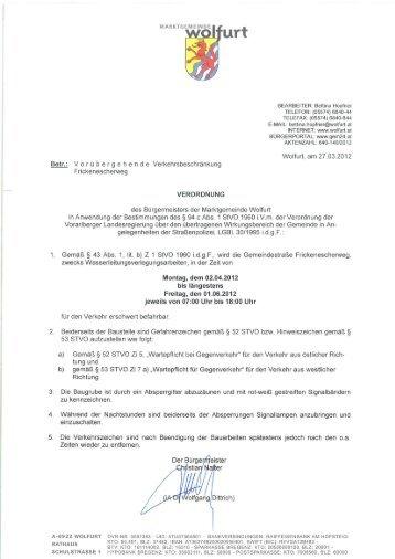 Bettina l-Iopfner TELEFON: (05574) 6840-44 TELEFAX