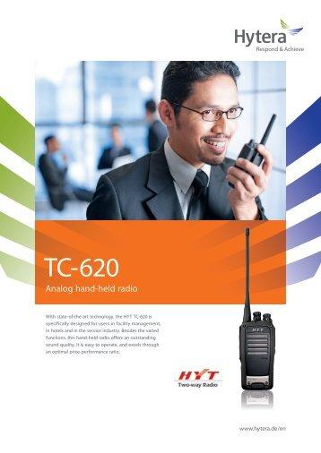 TC-620 (flyer) - Hytera Mobilfunk GmbH