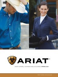 ARIAT® spRInG cATAloGue - Just Country Australia