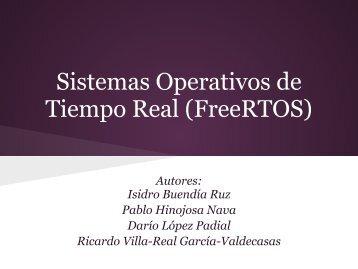 Sistemas Operativos de Tiempo Real (FreeRTOS)