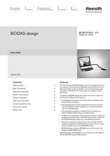 BODAS-design - Bosch Rexroth