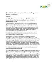 Veranstaltungsprogramm zum Download - Berliner Energieagentur