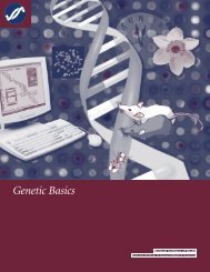 NIGMS -- Genetic Basics