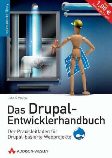 Das Drupal-Entwicklerhandbuch - eBook  - *ISBN 978 ...