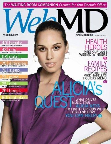 November/December 2011 - WebMD